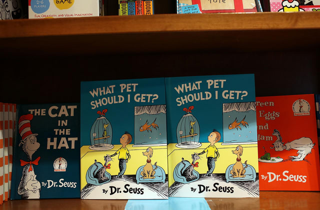 Dr. Seuss books shoot to the top of Amazon's U.S. bestseller list