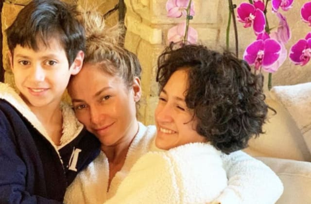 Jennifer Lopez's twins, Max and Emme, turn 13