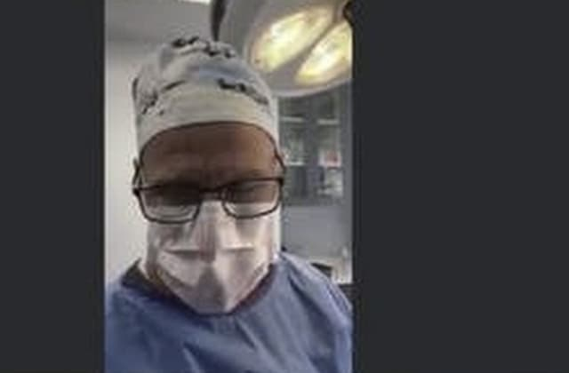 Doctor appears in court call - while performing surgery