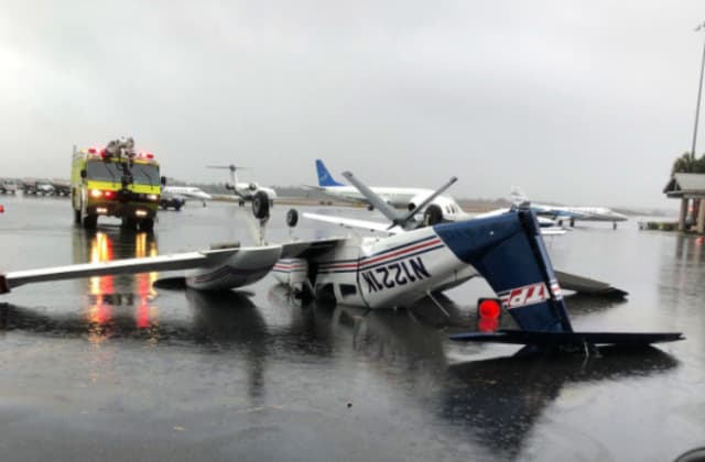 Tornado causes damage at Tallahassee airport