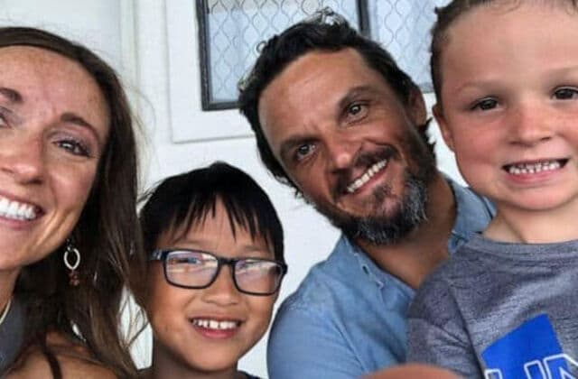 Couple adopted boy with striking similarity to son