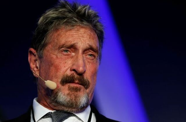 Antivirus software pioneer McAfee charged with fraud