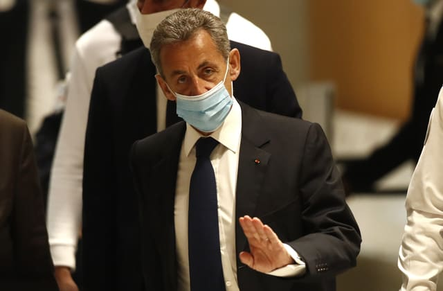 Former French president Sarkozy convicted of corruption
