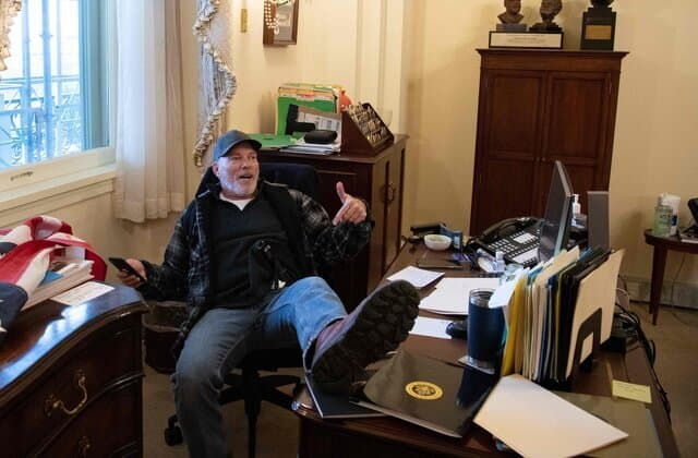 'Not fair!': Capitol riot suspect's outburst in court