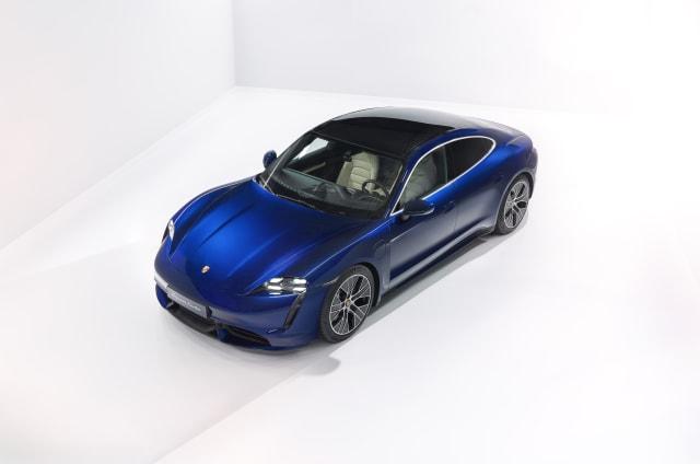 Elon Musk mocks Porsche for Taycan 'Turbo' badging - AOL