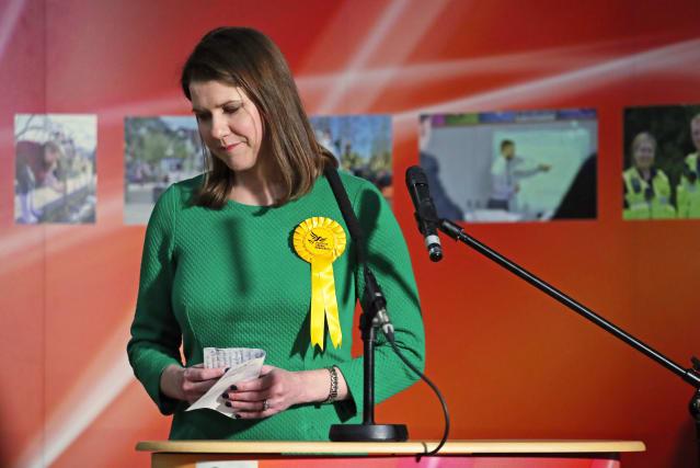 Jo Swinson Blames 'wave Of Nationalism' As Lib Dem Leader