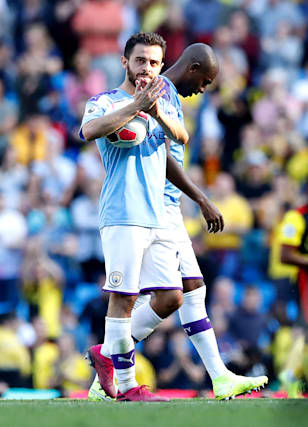 """buy popular bd8d7 9a345 Manchester City a """"joy to watch"""" against Watford – Guardiola ..."""