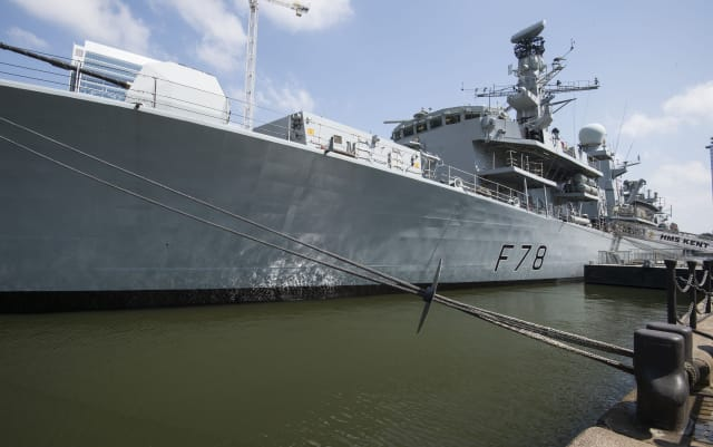Royal Navy frigate deploys to join effort protecting ships in the