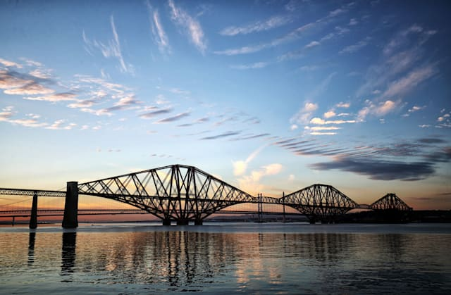 0-year plan to boost tourism around Forth bridges; PA; AOL