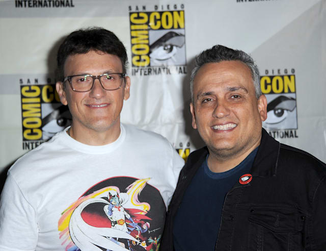 SAN DIEGO, CALIFORNIA - JULY 19: Anthony Russo and Joe Russo attend A Conversation With The Russo Brothers during 2019 Comic-Con International at San Diego Convention Center on July 19, 2019 in San Diego, California. (Photo by Albert L. Ortega/Getty Images)