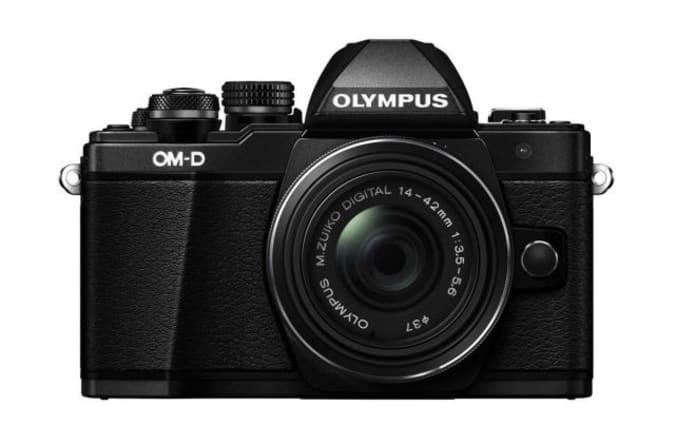 Olympus O-MD E-M10 Mark II mirrorless camera.