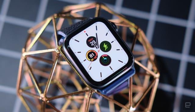 Apple Watch Series 5 smartwatch.