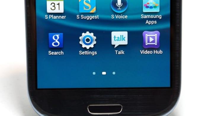 Samsung Galaxy S III software