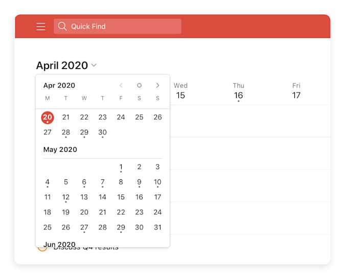 Todoist Upcoming View