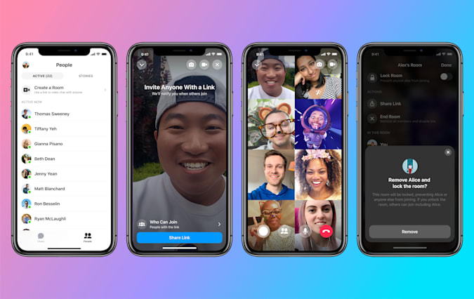 Facebook Messenger Rooms makes video chatting much more like Zoom.