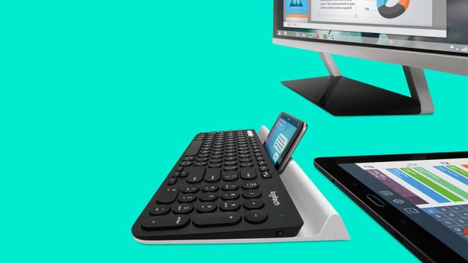 Logitech K780 multi-device keyboard.
