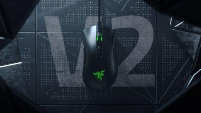 Razer Deathadder Elite gaming mouse.