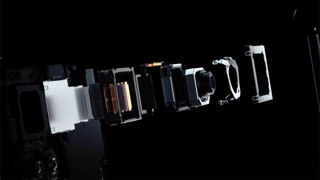Vivo X50 Pro micro gimbal camera