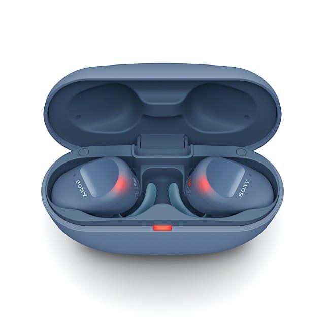 Sony WF-SP800N true wireless earbuds