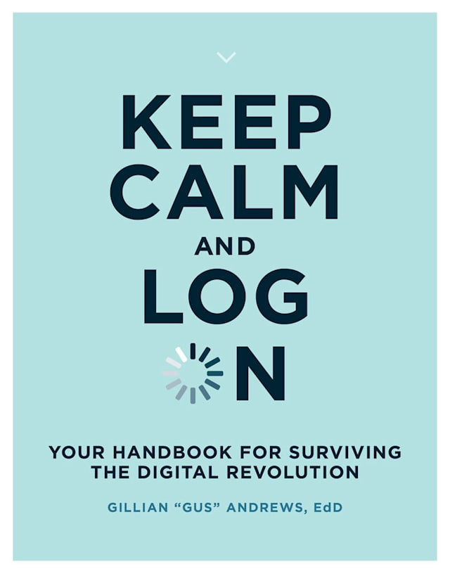 keep calm and log on cover