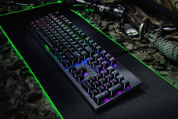 Razer Huntsman gaming keyboard.