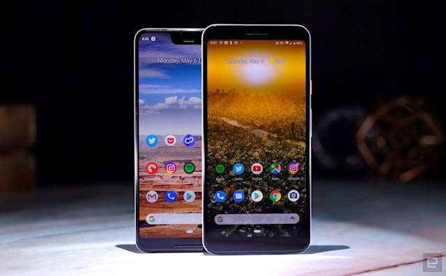 Smartphone Google Pixel 3a.