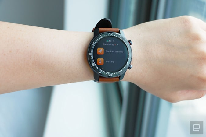 Timex Metropolitan R smartwatch hands-on by Engadget
