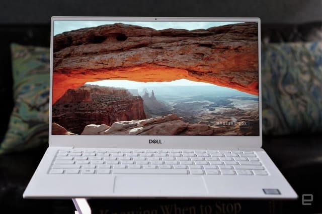 Dell XPS 13 laptop (2019).