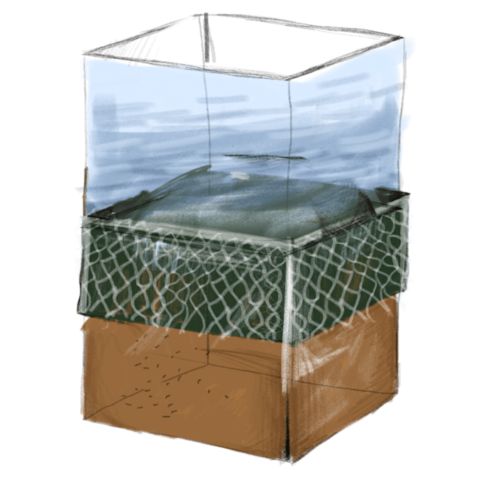An illustration of a superfund site.