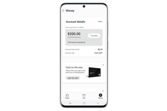 Samsung Money in Samsung Pay