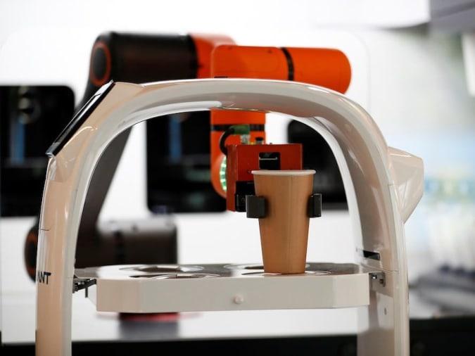 South Korea's robotic barista