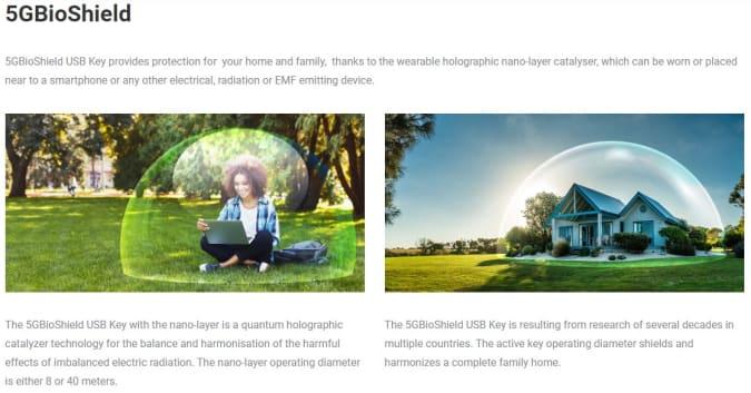 BioShield website