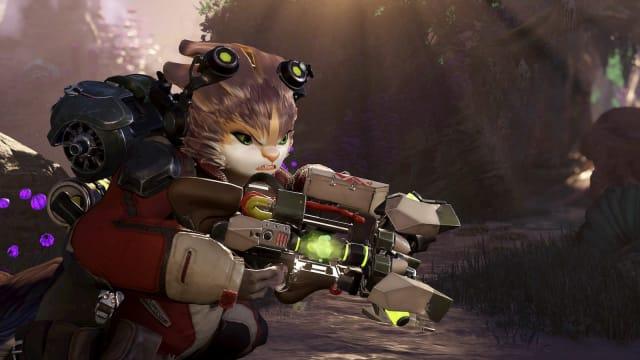 A screenshot of Amazon Games hero shooter Crucible