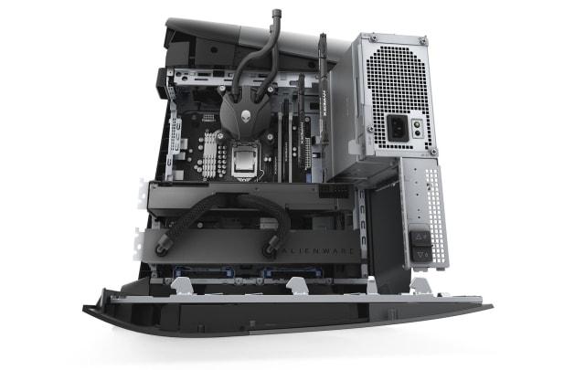 Alienware Aurora desktop with GPU liquid cooling