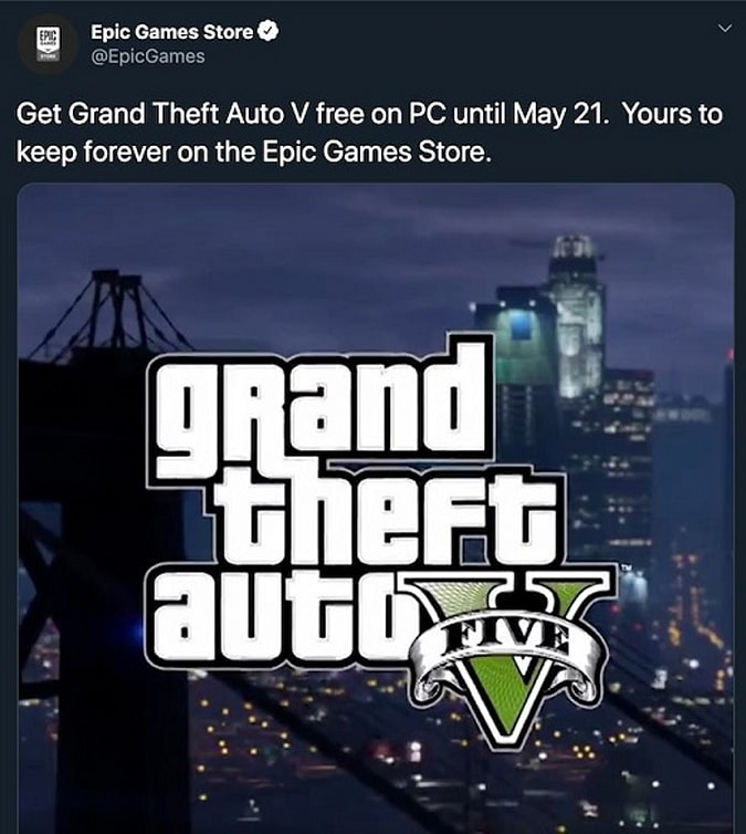 EGS GTA leak