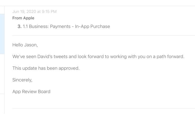 Apple Basecamp email