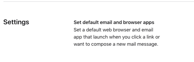 Apple will allow new default apps for email and browsing in iOS 14.