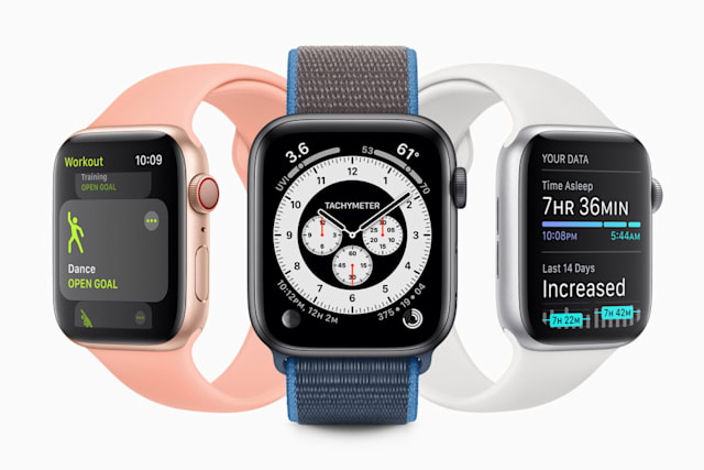 watchOS 7 watch faces