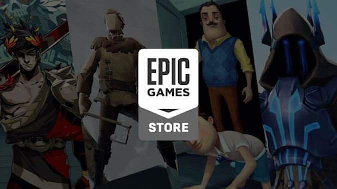 Epic Games Store launch logo