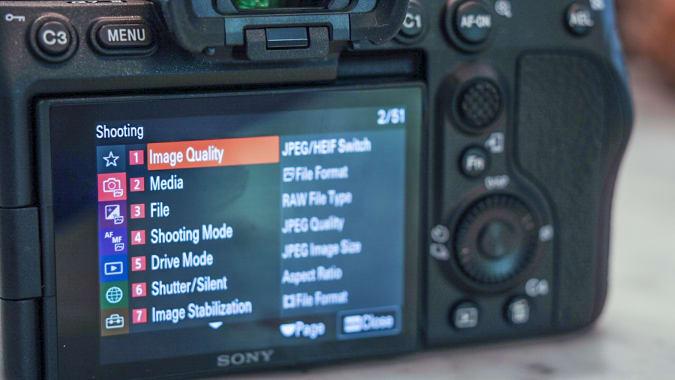 Sony A7S III full-frame mirrorless camera