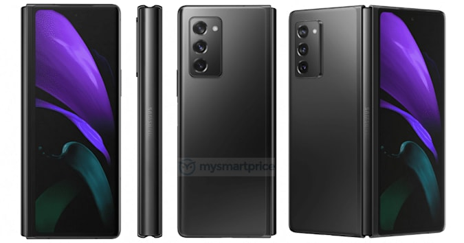 Samsung Galaxy Z Fold2 5G leaked high-resolution images
