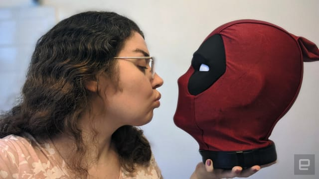 Deadpool's head and me. I have no life.