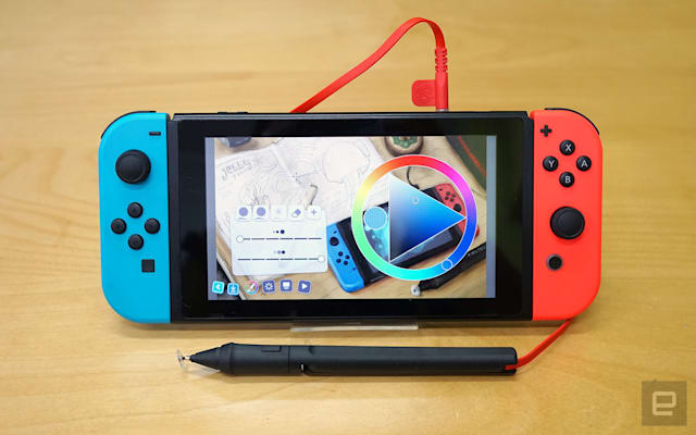 Colors Live with SonarPen for Nintendo Switch