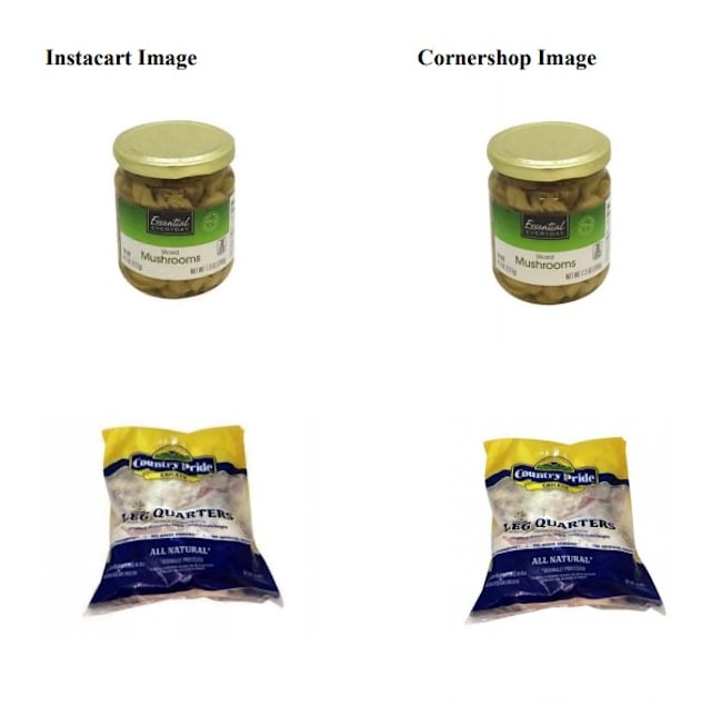 Instacart Cornershop comparison