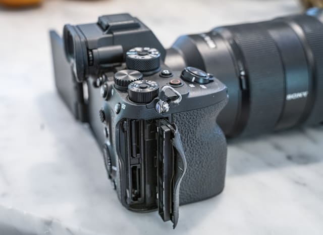 Sony A7S III full-frame mirrorless camera
