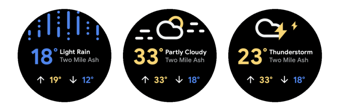 Wear OS updated weather app