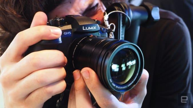 Panasonic GH5 vlogging