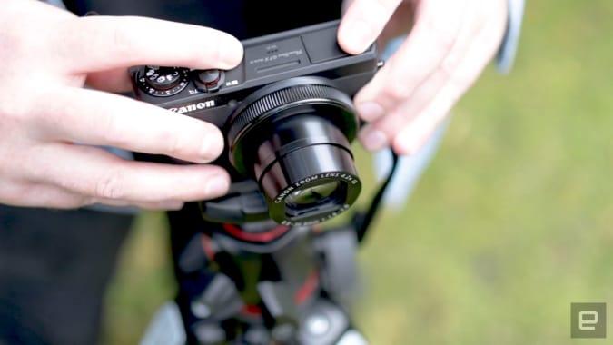 Canon G7X Mark III vlogging