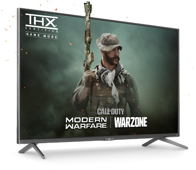 TCL's 6 Series TV THX-certified gaming mode