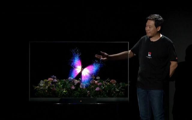 Xiaomi see-through OLED TV